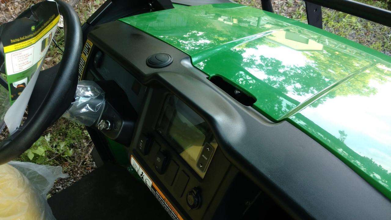 Ice Crusher Under Dash/Hood Cab Heater for John Deere Gator 625i