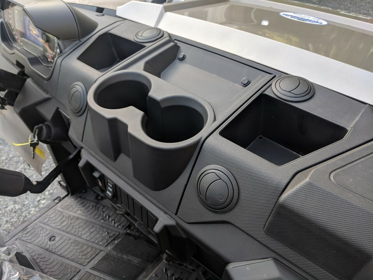 Defrost and Center Vents