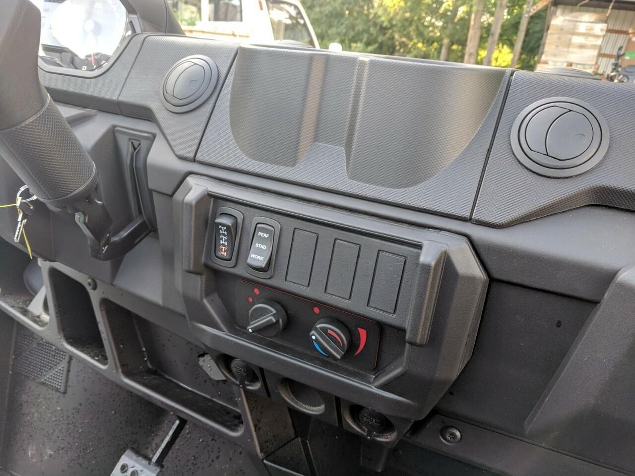 Ice Crusher Cab Heater Polaris Ranger 18+ XP1000 and Crew