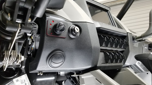 RZR Pro XP Driver Side Vent and three speed fan switch