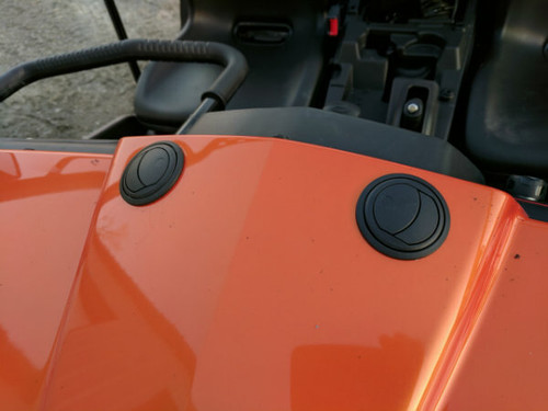 CFmoto UForce 500 and 800 Under Hood Cab Heater - Ice Crusher Cab Heater