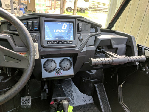 Ice Crusher UTV Cab Heater Polaris '17 RZR XP1000 Turbo, '18 RZR XP1000 (including Turbo and Ride Command)