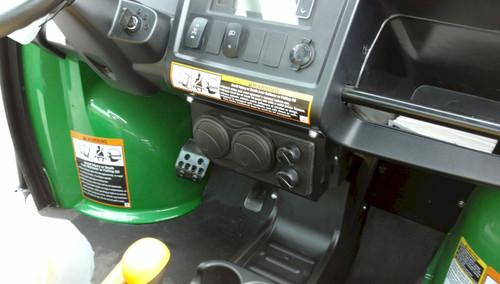 Ice Crusher Compact Below Dash Heater for John Deere 620