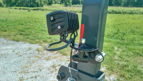 Tractor ROPS Rotating Work Light Mount