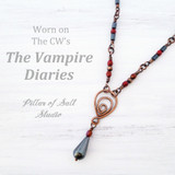 Copper necklace worn by Bonnie Bennett on The Vampire Diaries handcrafted by Pillar of Salt Studio