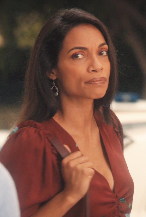 worn by Rosario Dawson on Jane The Virgin season 5