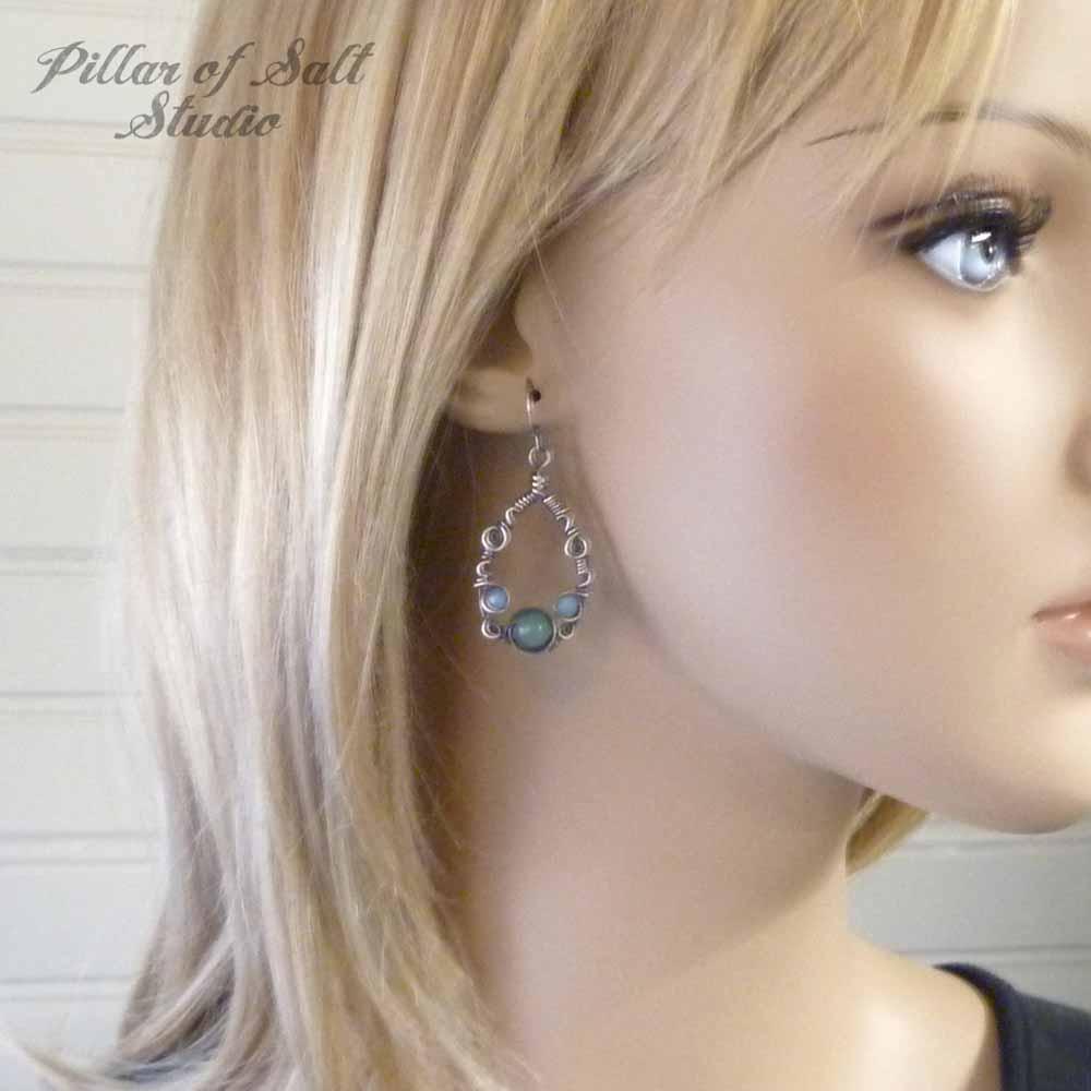 Sterling Silver Teardrop Earrings Worn on Jane The Virgin