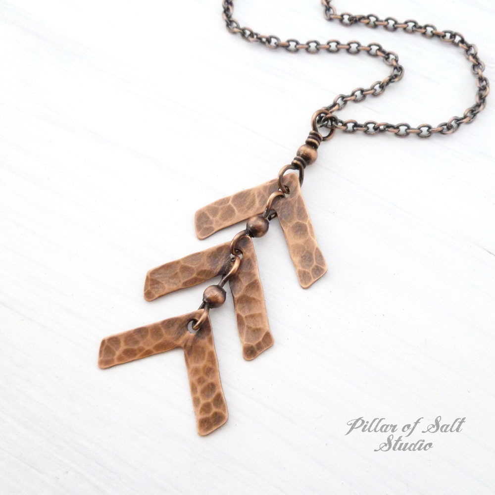 74acd11ad3d82 Down Syndrome three arrow necklace copper jewelry Down Syndrome three arrow  necklace copper jewelry ...