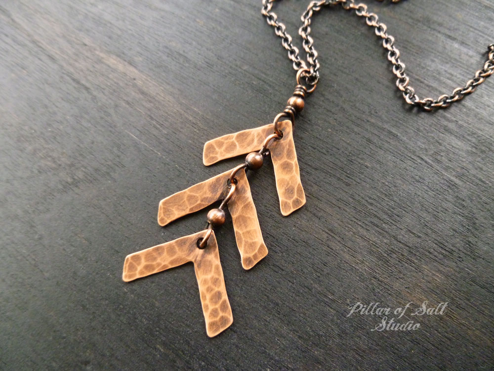 e0bf53e1815e9 ... Down Syndrome three arrow necklace Down Syndrome three arrow necklace  choose your chain length · Down Syndrome three arrow necklace copper jewelry