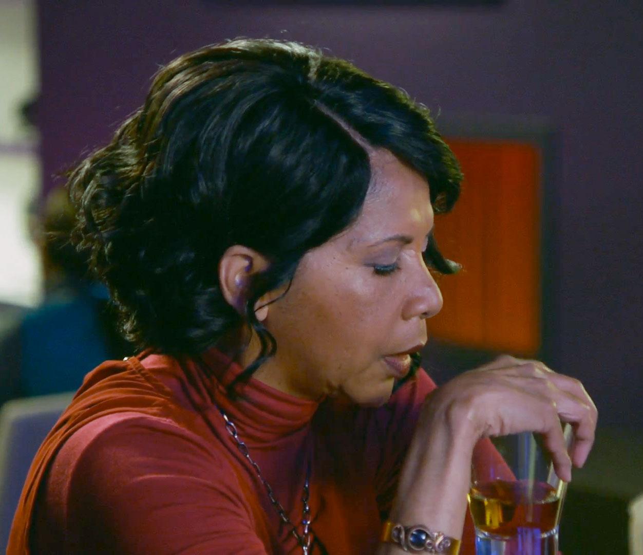 Copper cuff bracelet worn on The Orville season 2 episode 6