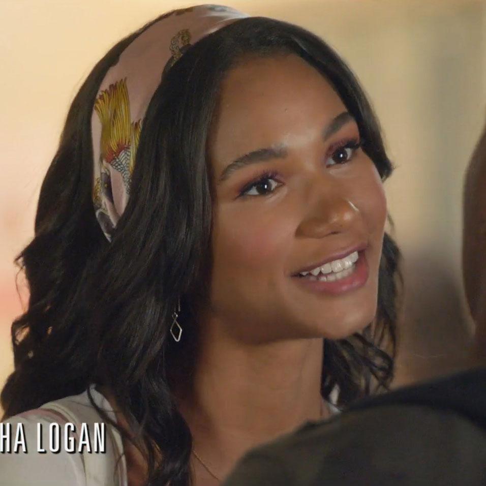 As seen on TV Silver Threader Earrings worn on All American season 2 episode 2 by Greta Onieogou (as Layla Keating)