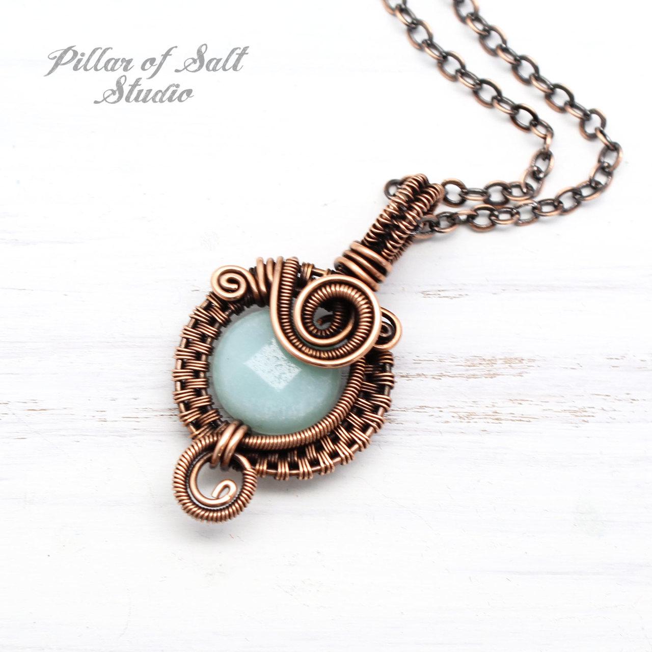 wire wrapped jewelry by Pillar of Salt Studio