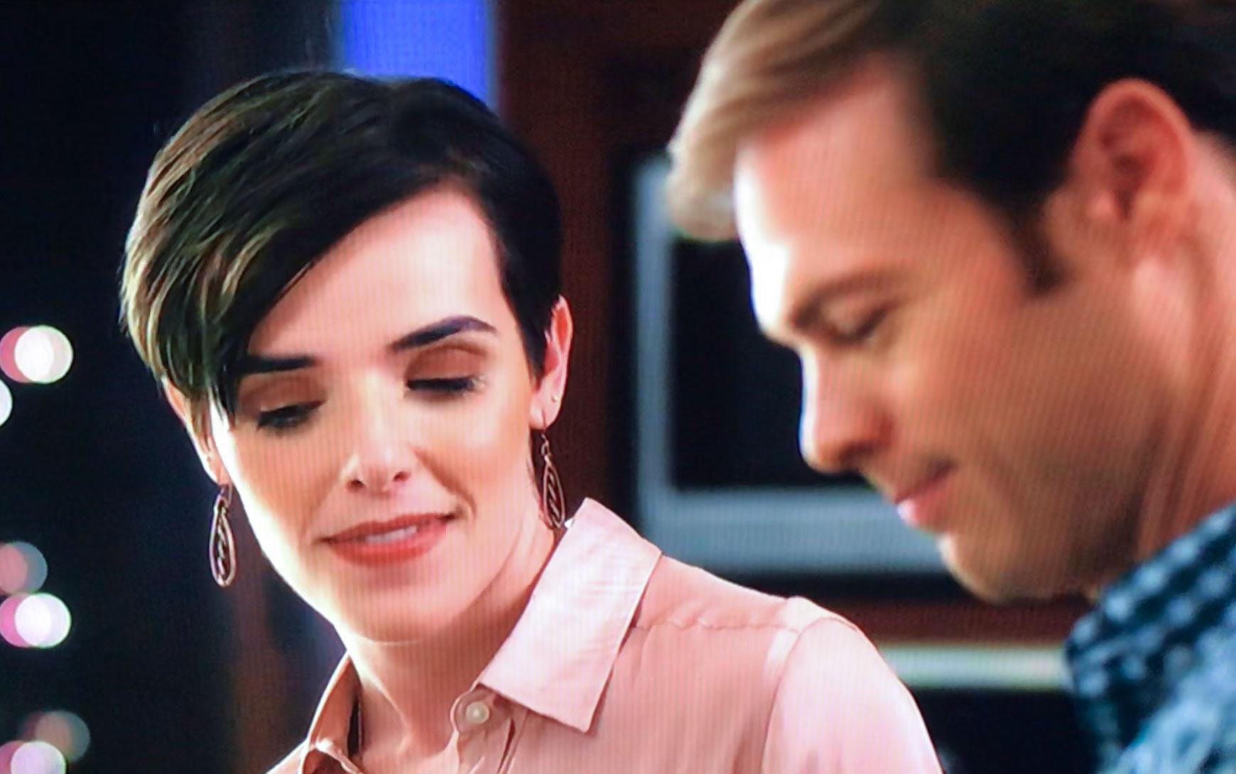 "Earrings worn on Lifetime's ""Staging Christmas"""