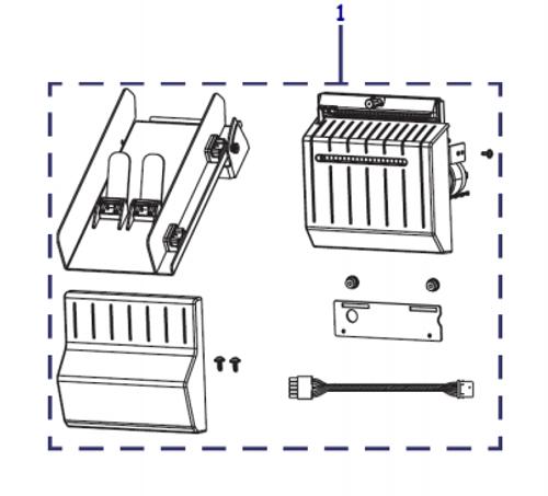 Kit Cutter Upgrade ZT610, ZT610R | P1083320-118