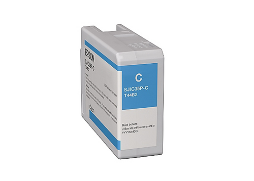 Epson Single Cyan Ink Cartridge for C6000/C6500 | C13T44B220
