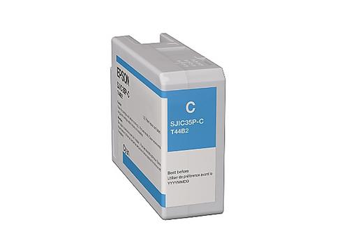 Epson Single Cyan Ink Cartridge for C6000/C6500   C13T44B220