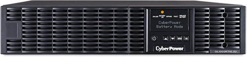 CyberPower OL1000RTXL2U Smart App Online UPS System, 1000VA/900W, 8 Outlets, 2U Rack/Tower