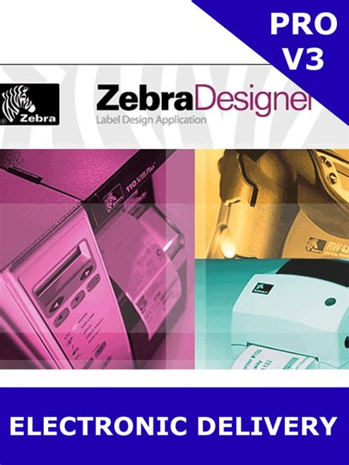 ZebraDesigner Pro 3 | Electronic copy | Email Delivery | P1109127