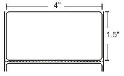 800274-155 Zebra Z-Select 4000T 4x1.5 Paper Label 12/Case | 800274-155