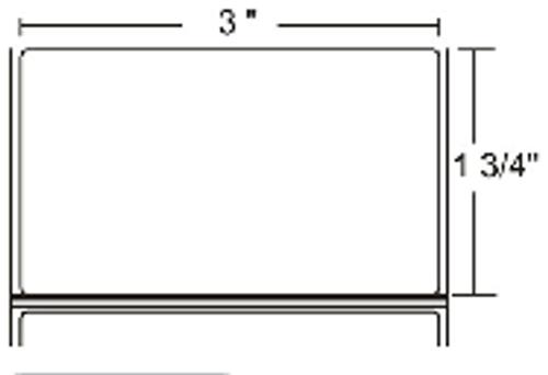 LD-R3AT5F Zebra Z-Perform 2000D 3x1.75 Paper Label 36/Case | LD-R3AT5F