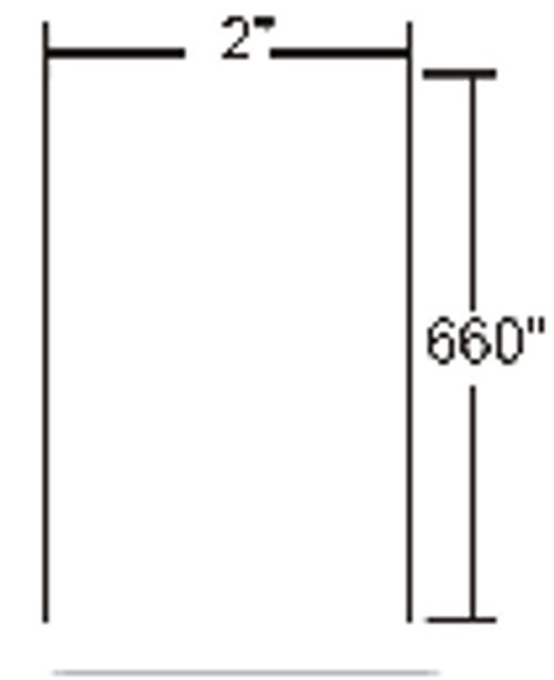 LD-R3KX5B Zebra Z-Select 4000D 3.2 mil Receipt (25 year archivability) 3x81.25' Paper Label 36/Case | LD-R3KX5B