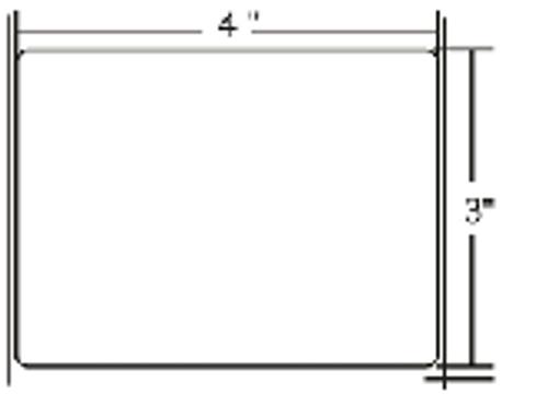 10000293 Zebra Z-Perform 2000D 4x3 Paper Label 4/Case | 10000293