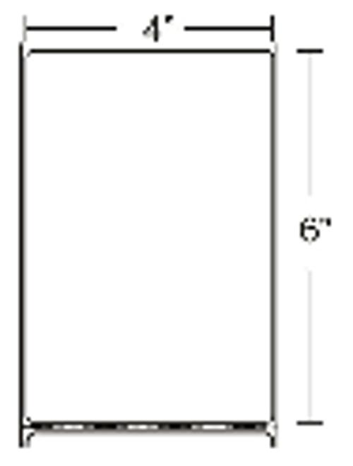 10000290 Zebra Z-Perform 2000D 4x6 Paper Label 4/Case | 10000290
