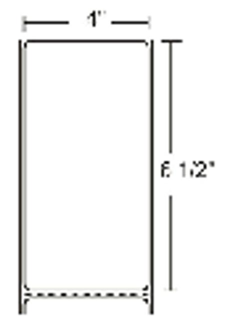 10000289 Zebra Z-Perform 2000D 4x6.5 Paper Label 4/Case | 10000289