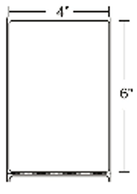 10000281 Zebra Z-Perform 2000T 4x6 Paper Label 4/Case | 10000281