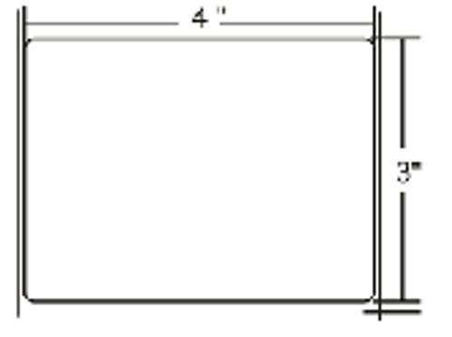 10000284 Zebra Z-Perform 2000T 4x3 Paper Label 4/Case | 10000284