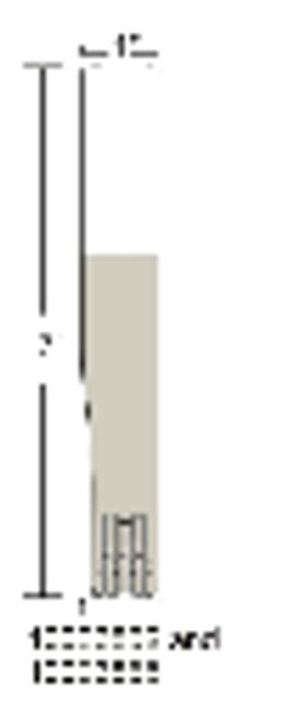 10003853 Zebra Z-Band Direct (White) 1x6 Synthetic Label 6/Case | 10003853