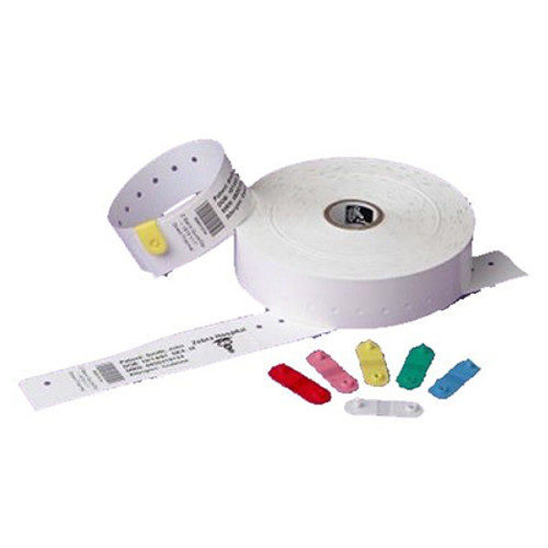 10007000K Zebra HC100 Z-Band QuickClip Kit 1.1875x11 Synthetic Label 4/Case | 10007000K