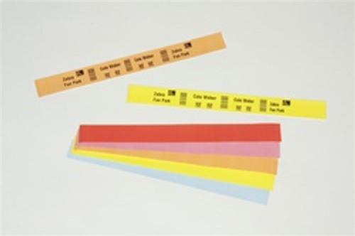 10012714-4 Zebra Z-Band Fun (Green) 1x10 Synthetic Label 4/Case | 10012714-4
