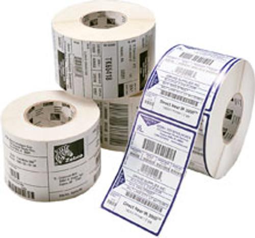 10015766 Zebra Z-Supreme 2000T White 1.5x0.25 Synthetic Label 1/Case | 10015766