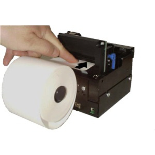 112 mm Roll Holder behind with paper low sensor, 150 mm dia max 01123-112 | 01123-112