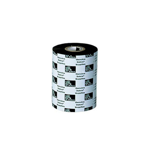 "02100BK11090 - Zebra Ribbon -   WAX RIBBON,4.33""X 110MM, 