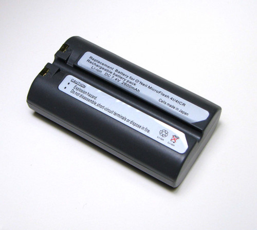 MicroFlash 4T/4i/4tCR/LP3/MF4T/OC2/OC3/OC4, PB20A, PB40, PB41, PW40 Replacement Battery 550034-000 | 550039-100