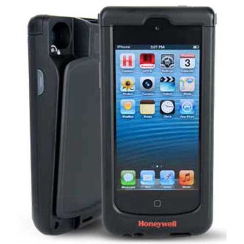 Honeywell Captuvo SL42 Enterprise Sled (iPhone5G Sled, SR Imager, Std Battery, USB Cable and Docs, Black) | SL42-032201-K | SL42-032201-K