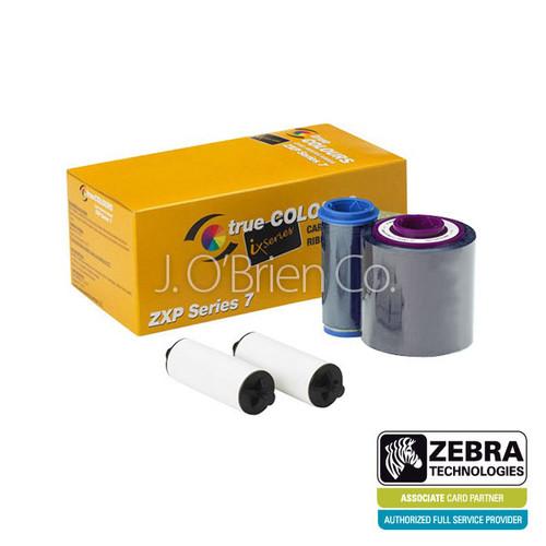 Zebra ix Series monochrome ribbon for ZXP Series 7, Silver | 800077-717 | 800077-717