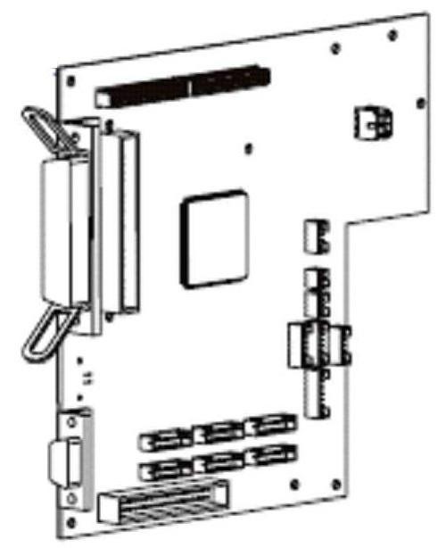 Zebra Kit Main Logic Board 4MB (RH & LH) for 110PAX4 34901-040M | 34901-040M