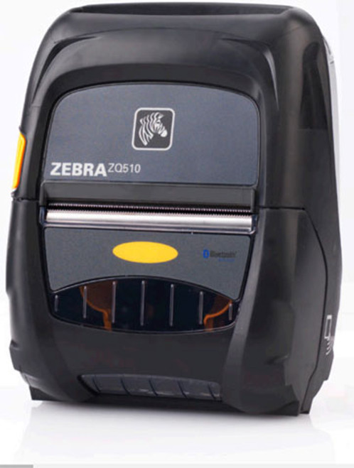 Zebra ZQ510 Mobile Printer (DUAL RADIO BT 3.0/WLAN LINER/ACTIVE NFC NO BATTERY) | ZQ51-AUN0110-00 | ZQ51-AUN0110-00