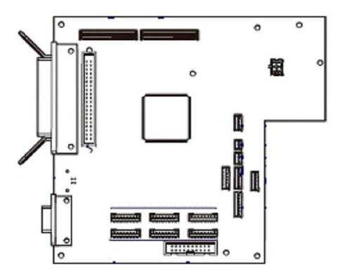 Zebra Kit Main Logic Board 4MB (RH & LH) for 170PAX4 34901-041M | 34901-041M
