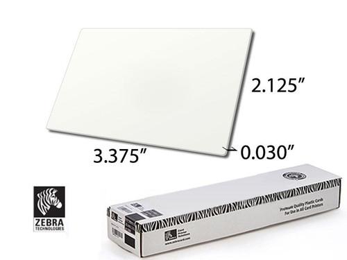 Zebra Premier PVC white card, 30 mil - 104523-111 | 104523-111