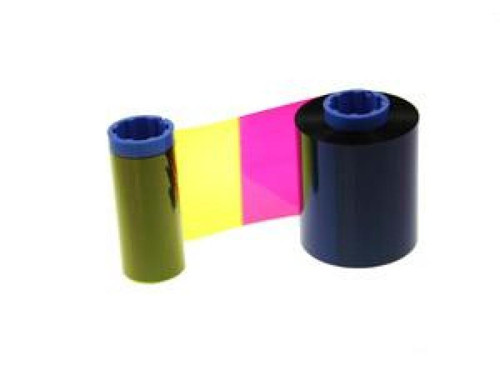 Zebra iSeries color ribbon 5 Panel YMCKO with 1 cleaning roller, 200 images | 800015-440