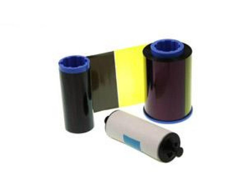 Zebra iSeries color ribbon 6 Panel YMCKOK with 1 cleaning roller, 170 images | 800015-448