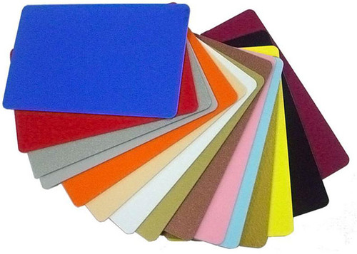 PVC card - silver metallic, 30 mil (500 cards) 104523-132 | 104523-132