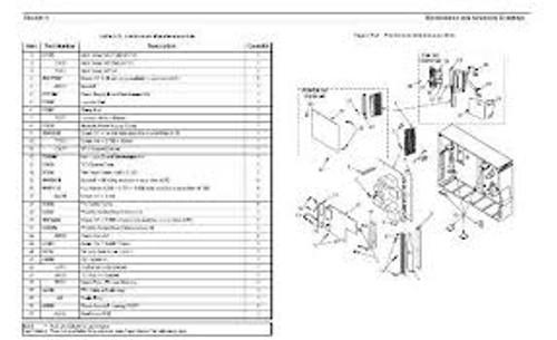Back Panel, USB/Ethernet (Direct Thermal) | 105934-074