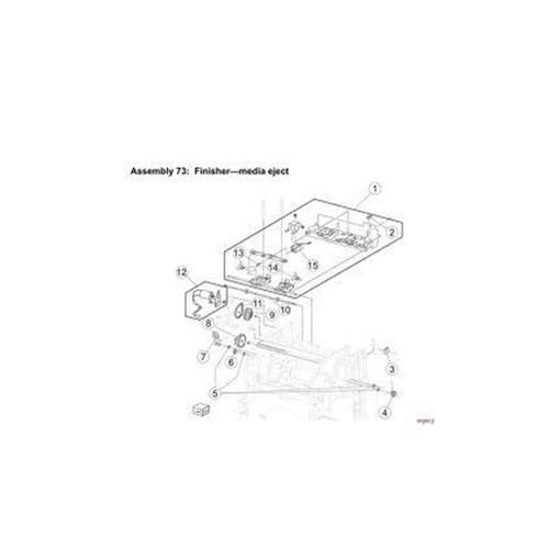 KIT CATCH LVR ASS'Y TTP8X (10) | P1022237-020