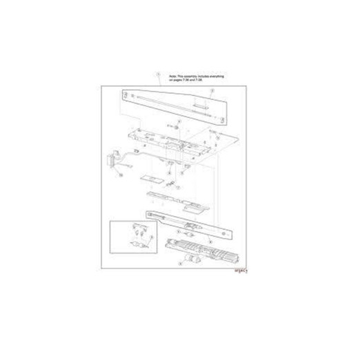 KIT TRANSPORT LATCH TTP8X00(5) | P1022237-024