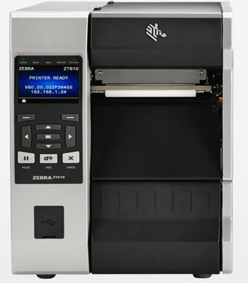 ZT61042-T210100Z   Standard ZT610 with 203 DPI (8 dots/mm), Rewind with Peel   ZT61042-T210100Z